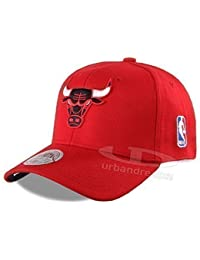 MITCHELL & NESS COTTON STRETCH FIT CAP Chicago Bulls #055 - S/M -
