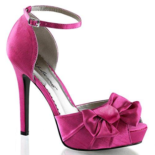 Sandales pour femme en satin rose (rose) Rose