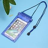 TiooDre Wasserdichte Schutzhülle für iPhone X/8/7/7 Plus Galaxy S8/S7, LG G6, Huawei P9 und So on, Blau