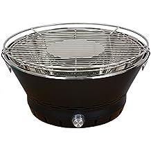barbelux Parrilla para barbacoa de carbón vegetal de loto para exteriores, barbacoa sin humo con