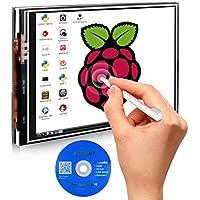 Compatible Raspberry pi 3 Modèle B/B+2B, Kuman 3.5 pouce LCD TFT Screen Ecran Tactile 320*480 Module SPI Avec Un Stylo SC06