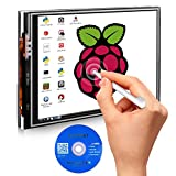 Kuman 3.5 inch 320*480 Resolution Touch Screen TFT LCD Display Module SPI Interface with Touch Pen 3.5 zoll LCD Bildschirm for Raspberry-pi 3 2 Model B/B+ 2B SC06 (SC06)