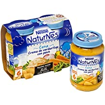 Nestlé - Naturnes Cena Crema De Verduritas Con Pavo A Partir De 6 Meses 400 gr - Pack de 3 (Total 1200 grams)