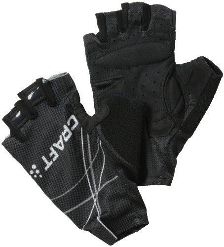 Craft Performance bike-men Fahrrad Handschuhe, Herren, schwarz/weiß/grau, xs (Handschuh Grau Herren)