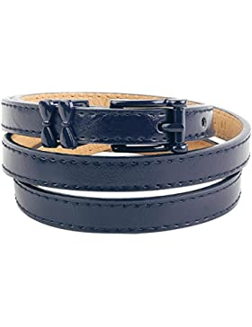 Banned Come Back Belt Cinturón Azul oscuro