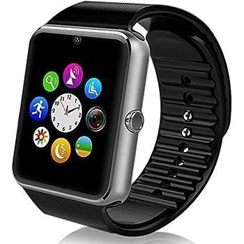 MallTEK Android Smartwatch Bluetooth con Tarjeta TF / SIM, Reloj ...