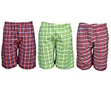 Spictex Boys' Cotton Shorts (Pack Of 3) ...