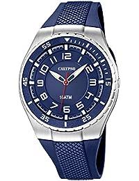 Calypso watches cal-21782–Uhr für Männer, Kunststoff-Armband Dunkelblau