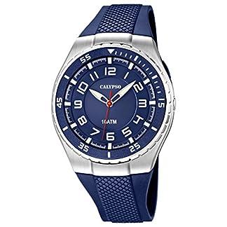 Calypso watches cal-21782 – Reloj para Hombres, Correa de plástico Color Azul Oscuro