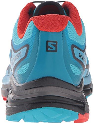 Salomon L39030500, Chaussures De Course Sur Sentier Pour Femme, Noir Bleu