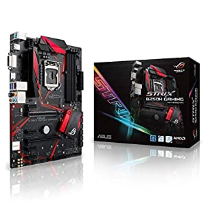 Asus ROG STRIX B250H Gaming Socket 1151 DDR4 S-ATA 600 ATX Motherboard - Black