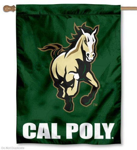 Cal Poly Mustangs House Flagge von College Flaggen und Banner CO.