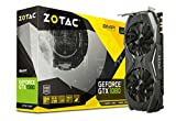 Zotac GeForce GTX 1080 AMP Grafikkarte (NVIDIA, 8GB GDDR5X, 256bit, Base-Takt 1683 MHz / Boost-Takt 1822 MHz, 10 GHz)