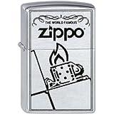 Zippo Briquet #200 The World Famous Zippo