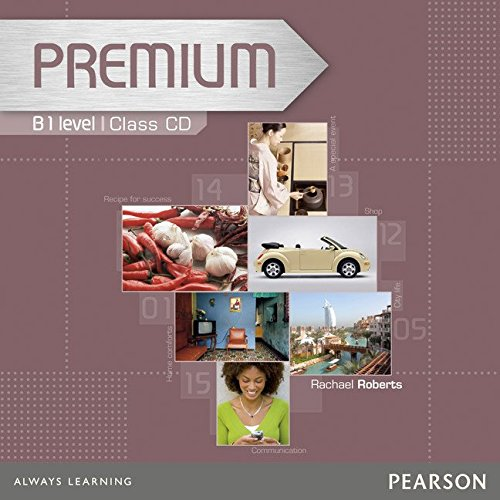 Premium B1 Level Coursebook Class CDs 1-2