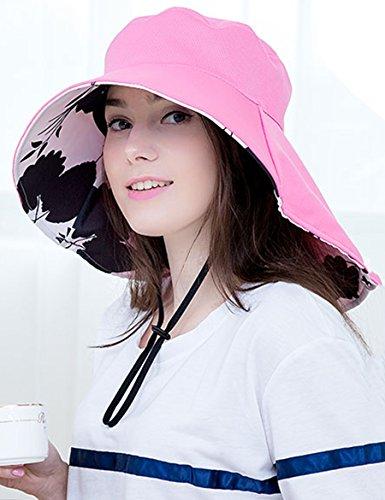 Chapeau de soleil féminin féminin chaude Chapeau de soleil doux pliant au soleil doux Chapeau de soleil anti-ultraviolet Sunrise Sun ( Couleur : 1 ) 1