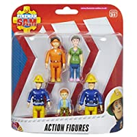 Character Options Fireman Sam Action Figures