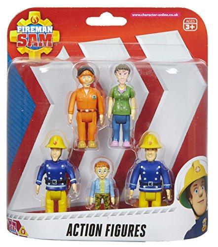 feuerwehrmann sam tom thomas Unbekannt Feuerwehrmann Sam Actionfiguren 5er Packung [UK Import]