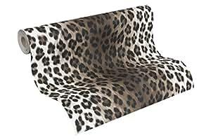 A.S. Création Peau de Léopard 663023 Papier Peint 10,05 x 0,53 m (Import Allemagne)