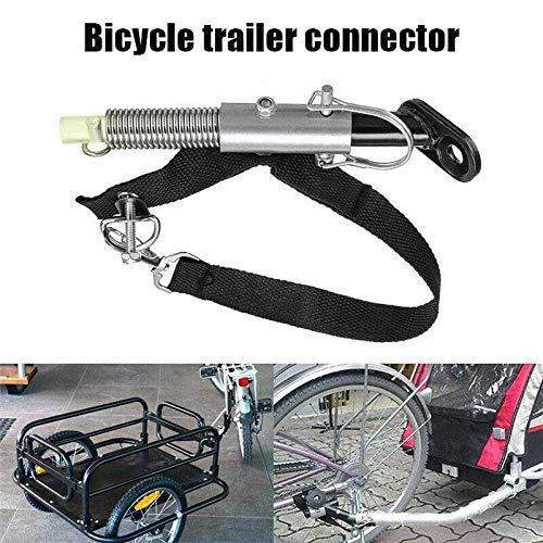 Lumon Anhänger Anschluss, Universal Fahrrad Anhänger Fahrrad Anhängevorrichtung Baby Haustier Kupplung Verknüpfer Anschluss Fahrrad Heckträger Zubehör
