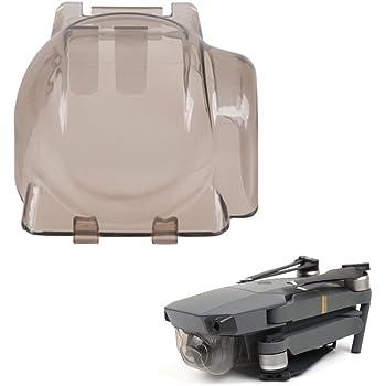 MyArmor Replacement Shockproof Damp Gimbal Guard Cover Anti-scratch Camera Lens Cap Cover Protector for DJI Mavic Pro (Transparent Grey)