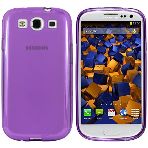 für Samsung Galaxy S3 / S3 Neo Silikon Tasche Hülle - Silicon Protector Schutzhülle lila ()