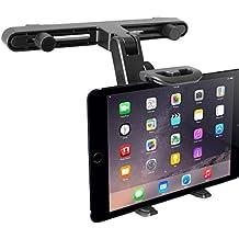 Macally HRMOUNT - Soporte ajustable para reposacabezas de coche para iPad/tableta de hasta 20,3 cm de ancho
