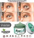 Bella Vita Organic EyeLift Under Eyes Cream Gel for Dark Circles, Puffy