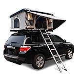 XPHW Dachzelt ABS Hard Shell Wasserdicht Auto Dachzelt Automatische Outdoor Offroad, Geeignet Für 2-3 Erwachsene, Mit Verlängerter Leiter Und Solarzelt Licht