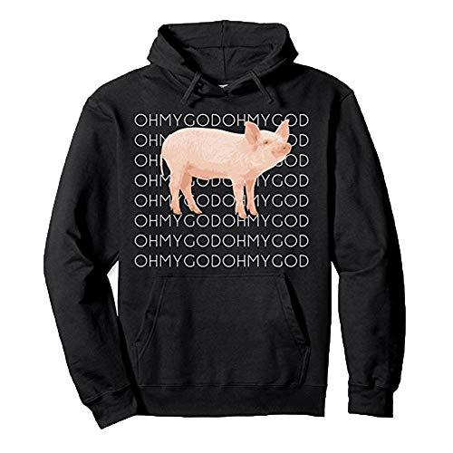 Preisvergleich Produktbild TianWlio Damen Hoodie Frauen Langarm Hoodie Mode Langarm Drucken Farbe Brief Pullover mit Langen Ärmeln Sweatshirt