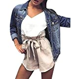 ITISME FRAUEN BLUSE Frauen Jeansjacke verblasst zerrissen ausgestattet Vintage Boyfriend übergroßen Mantel