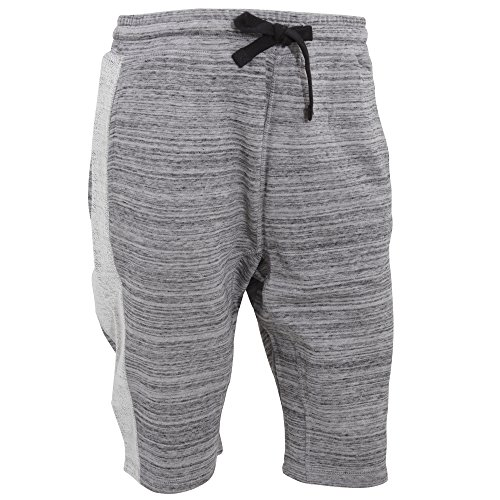 Bench - Mooch - Pantaloni Corti Sportivi Casual - Uomo (XXL) (Grigio)