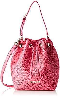 Love Moschino JC4027, Bolsa de Medio Lado Para Mujer, Rosa (Pink), 12x27x30 cm (B x H x T)