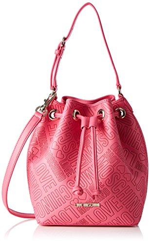 Love Moschino Jc4027, Borse a Tracolla Donna, colore rosa (pink), taglia 12x27x30 cm (B x H x T)