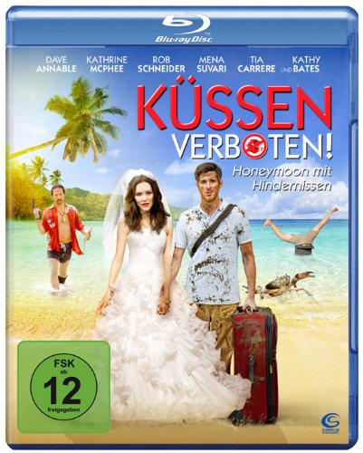Küssen verboten - Honeymoon mit Hindernissen (Voll verflittert) [Blu-ray]