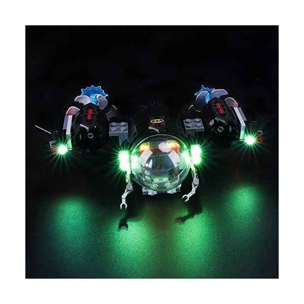 BRIKSMAX Kit di Illuminazione a LED per Lego Super Heroes Batsub di Batman e Il duello Sottomarino,Compatibile con Il… 1 spesavip
