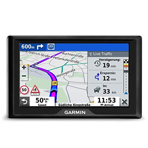 Garmin Drive 52 EU Navi RDS - Europakarten, 5 Zoll-Display, Sicherheitspaket, Parkplatzsuche, TripAdvisor POIs