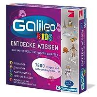 Clementoni-691593-Galileo-Kids-Das-grosse-Wissens-Quiz Clementoni 69159 Galileo Kids – Das große Wissens-Quiz, Frage-Antwort-Spiel ab 7 Jahren, lehrreiches Kartenspiel, Allgemeinwissen & Spaß für die ganze Familie -