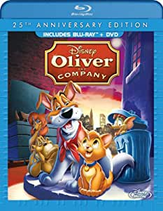 Oliver & Company: 25th Anniversary Edition [Blu-ray] [1988] [US Import]