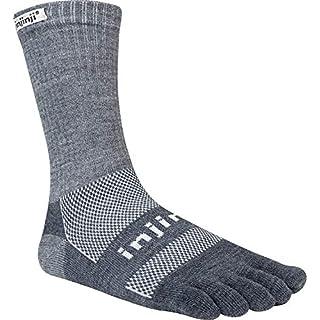 Injinji 2.0Outdoor nuwool Midweight Crew Socken Größe L Charcoal & Black