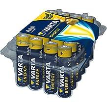 Varta Energy - Pack de 24 pilas alcalinas AAA/LR03/Micro