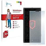 3x Vikuiti MySafeDisplay Protector de Pantalla DQCT130 de 3M para Nokia Lumia 830