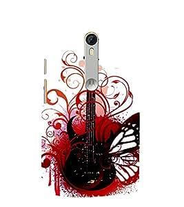 Wonderful Guitar 3D Hard Polycarbonate Designer Back Case Cover for Motorola Moto G3 :: Motorola Moto G (3rd Gen)
