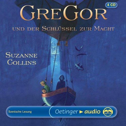 Gregor und der Schlüssel zur Macht (4 CD): Szenische Lesung