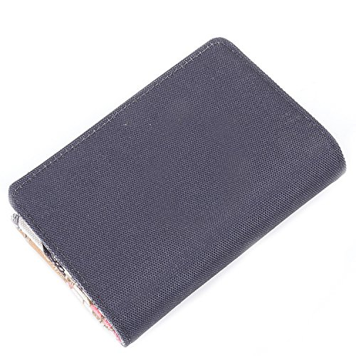 Oilily  Oilily S Wallet, Portafogli Grigio (Charcoal)
