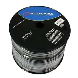 Accu Cable AC-SC 2-2.5/100R 100m Speaker Cable - Black