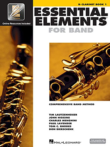 Essential Elements 2000: Comprehensive Band Method: Clarinet Book 1 por Hal Leonard Pub