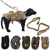 bureze Outdoor Tactical Police Hund Training Leine Strap Elastic Bungee Hunde-Militär