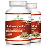Leanhealth Ashwagandha 800 MG 60 Capsules 100% Pure And Natural.(Pack Of 2)