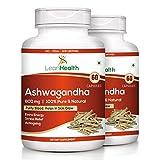 #9: Leanhealth Ashwagandha 800 MG 60 Capsules 100% Pure and Natural.(Pack of 2)